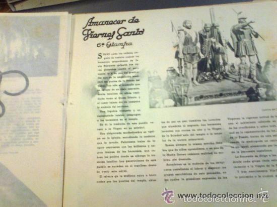 Postales: Zamora y su Semana Santa. Editor Jacinto Gonzalez. 50 hojas. Muchas imágenes y publicidad. - Foto 2 - 60269135