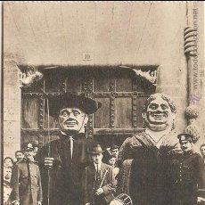 Postales: BURGOS, LOS GIGANTILLOS - FOTOTIPIA DE HAUSER Y MENET Nº 60 - SIN CIRCULAR. Lote 61506447