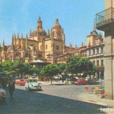 Postales: SEGOVIA, PLAZA DEL GENERAL FRANCO, GARCIA GARRABELLA, SIN CIRCULAR. Lote 61575236