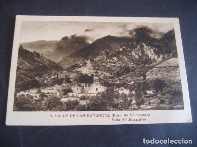 SALAMANCA, VALLE DE LAS BATUECAS. VISTA DEL MONASTERIO (Postales - España - Castilla y León Antigua (hasta 1939))
