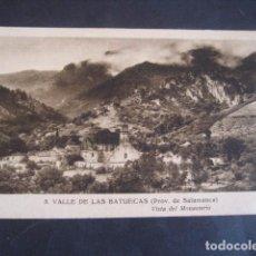 Postales: SALAMANCA, VALLE DE LAS BATUECAS. VISTA DEL MONASTERIO. Lote 61668964