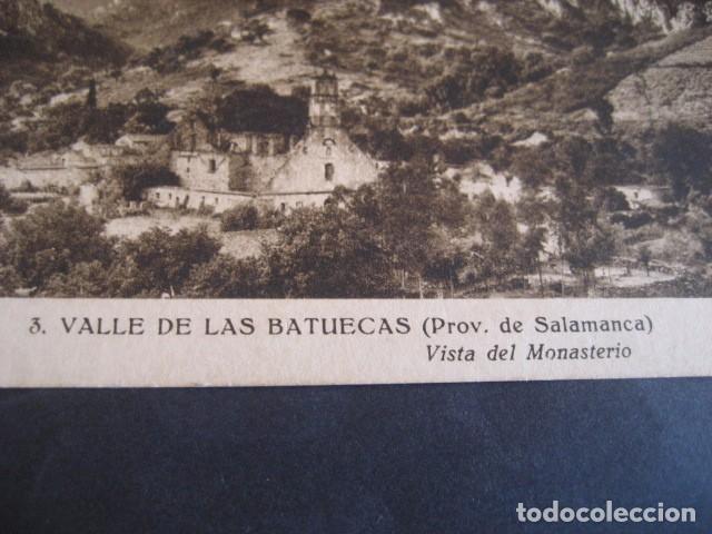 Postales: SALAMANCA, VALLE DE LAS BATUECAS. VISTA DEL MONASTERIO - Foto 2 - 61668964