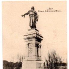 Postales: PS6863 LEÓN 'ESTATUA DE GUZMÁN EL BUENO'. GRACIA. SIN CIRCULAR. PRINC. S. XX. Lote 61819328