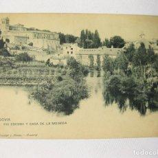 Postales: POSTAL DEL RIO EDESMA Y CASA DE LA MONEDA DE SEGOVIA. HAUSER Y MENET. SIN CIRCULAR. Lote 62049212