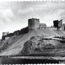 Postales: PS6939 PONFERRADA 'CASTILLO DE LOS TEMPLARIOS. VISTA GENERAL'. M. ARRIBAS. 1956. Lote 62057672