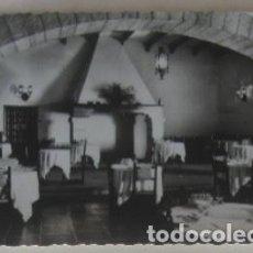 Postales: POSTAL DE CIUDAD RODRIGO - PARADOR DEL TURISMO, COMEDOR. Lote 62163652