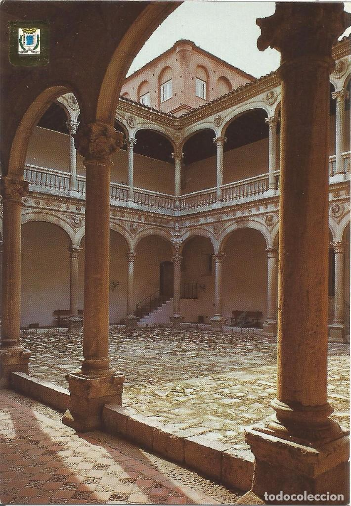 Pn502 Postal Medina Del Campo Valladolid Palacio De Duenas Claustro