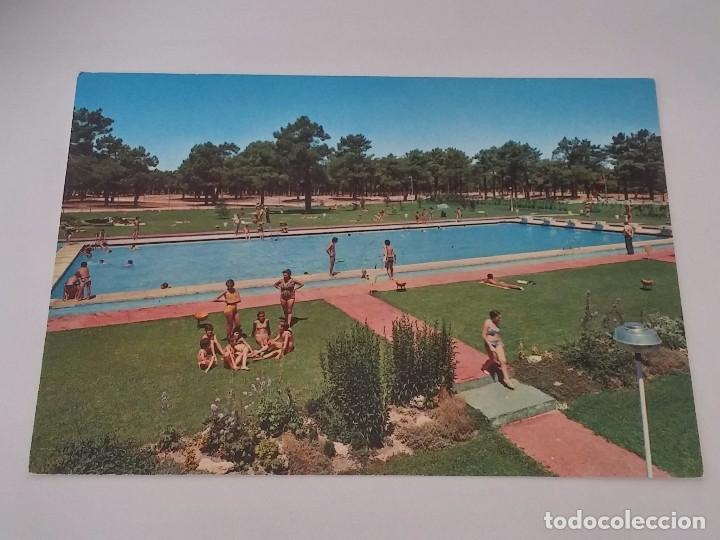 Foto postal de cantalejo segovia piscinas mun comprar postales de castilla y le n en - Piscina climatizada segovia ...