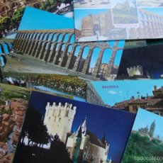 Postales: LOTE DE POSTALES ANTIGUAS DE SEGOVIA. Lote 63293844