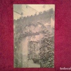 Postales: VALLADOLID: CASA DE CERVANTES, JARDINES INTERIORES. Lote 63604892