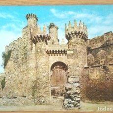 Postales: PONFERRADA - CASTILLO DE LOS TEMPLARIOS. Lote 63723539