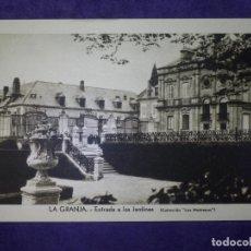 Postales: POSTAL - ESPAÑA - SEGOVIA - LA GRANJA - ENTRADA A LOS JARDINES - COLECCIÓN LOS MEDRANOS -. Lote 63996819