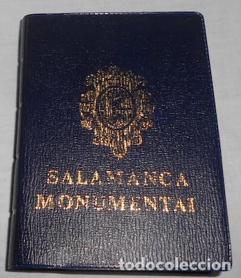 BLOCK FUELLE CON 18 POSTALES DE SALAMANCA MONUMENTAL (Postales - España - Castilla y León Moderna (desde 1940))