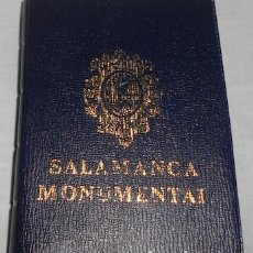 Postales: BLOCK FUELLE CON 18 POSTALES DE SALAMANCA MONUMENTAL. Lote 64132603