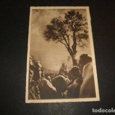 Postales: RIAZA SEGOVIA CONTRALUZ EN HONTANARES. Lote 64396683