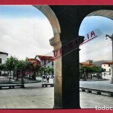 Postales: POSTAL VILLARCAYO, BURGOS, PLAZA MAYOR, P84511. Lote 65661738