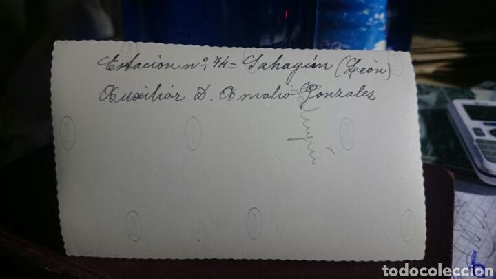 Postales: Fotografía Sahagún, León, original,esclusas confederación del duero,muy buena foto,ver reverso - Foto 2 - 65868086