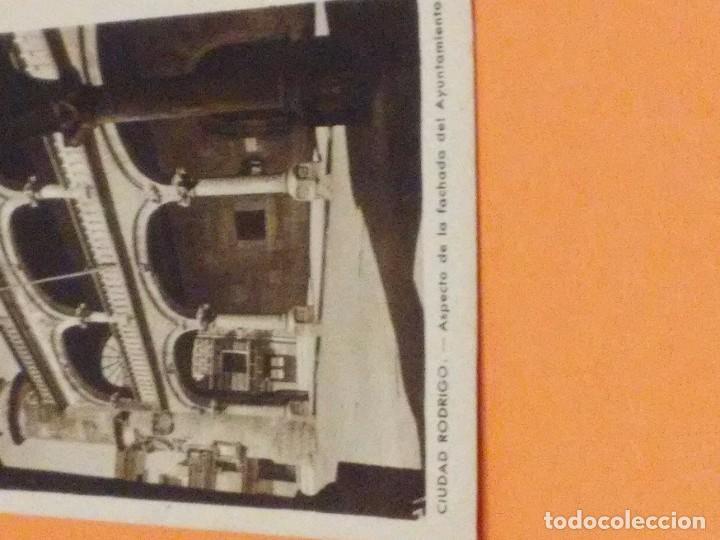 Postales: CIUDAD RODRIGO - POSTAL DE LA FACHADA DEL AYUNTAMIENTO - ESCRITA - MATASELLOS SIN SELLO - Foto 2 - 66773250