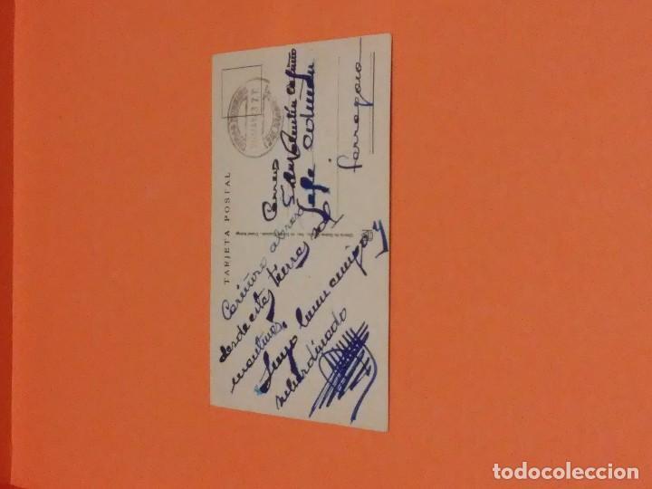 Postales: CIUDAD RODRIGO - POSTAL DE LA FACHADA DEL AYUNTAMIENTO - ESCRITA - MATASELLOS SIN SELLO - Foto 3 - 66773250