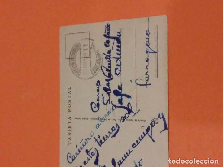 Postales: CIUDAD RODRIGO - POSTAL DE LA FACHADA DEL AYUNTAMIENTO - ESCRITA - MATASELLOS SIN SELLO - Foto 4 - 66773250
