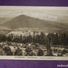 Postales: POSTAL - ESPAÑA - SEGOVIA - LA GRANJA - VISTA GENERAL - COLECCION LOS MEDRANOS - ESCRITA. Lote 66960326