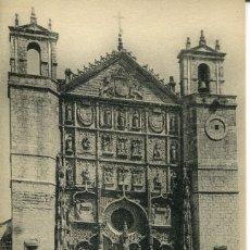 Postales: VALLADOLID-FACHADA DE LA IGLESIA DE SAN PABLO.--LL---RARA. Lote 67020402