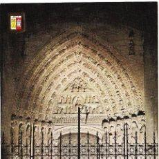 Cartoline: T - AVILA - LA CATEDRAL PUERTA NORTE - B-1187-XIV. Lote 67135525