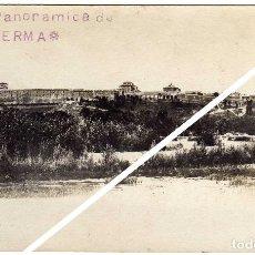 Postales: BONITA Y RARA POSTAL FOTOGRAFICA - LERMA (BURGOS) - VISTA PANORAMICA. Lote 49715566