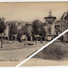 Postales: MAGNIFICA POSTAL - BRIVIESCA (BURGOS) - PLAZA MAYOR. Lote 49715158
