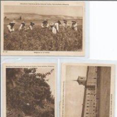 Postales: LOTE 17 POSTALES MONASTERIO CISTERCIENSE SAN ISIDRO DE DUEÑAS VENTA DE BAÑOS PALENCIA. Lote 67736297