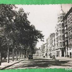 Postales: VALLADOLID - AVENIDA GENERALÍSIMO FRANCO - AÑOS 50/60. Lote 67762009