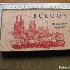 Postales: BLOC CON 20 POSTALES DE BURGOS . Lote 67857101