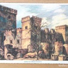 Postales: CASTILLO DE AMPUDIA - PALENCIA. Lote 67950977