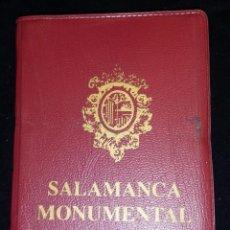 Postales: LIBRITO FUELLE DE 20 POSTALES SALAMANCA MONUMENTAL. COLOR.. Lote 68018905