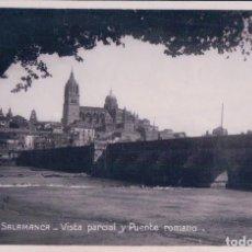 Postales: POSTAL SALAMANCA. VISTA PARCIAL Y PUENTE ROMANO , 2513 UNIQUE. Lote 68487573