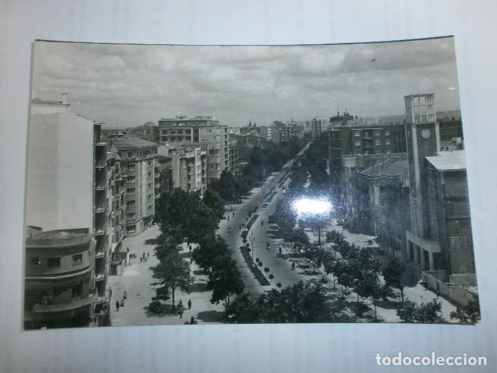 PASEO DE ZORRILLA (Postales - España - Castilla y León Moderna (desde 1940))