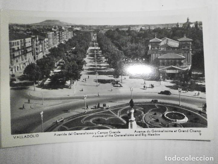 AVENIDA DEL GENERALISIMO Y CAMPO GRANDE DE VALLADOLID (Postales - España - Castilla y León Moderna (desde 1940))