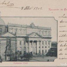 Postales: SALAMANCA - GOBIERNO CIVIL - LIBRERIA Y PAPELERIA CUESTA. Lote 70053761
