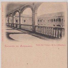 Postales: SALAMANCA - PATIO DEL COLEGIO DE LOS IRLANDESES. Lote 70053865