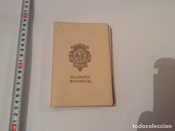 ACORDEÓN DE POSTALES. SALAMANCA MONUMENTAL 20 POSTALES - AÑOS 70 (Postales - España - Castilla y León Moderna (desde 1940))