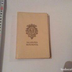 Postales: ACORDEÓN DE POSTALES. SALAMANCA MONUMENTAL 20 POSTALES - AÑOS 70. Lote 70291381