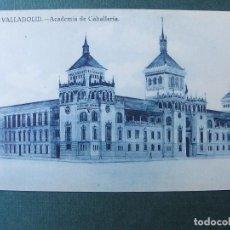 Postales: ACADEMIA DE CABALLERÍA-GRAFOS MADRID-SIN CIRCULAR. Lote 70522389