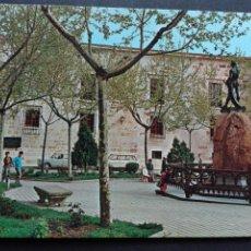 Postales: ZAMORA MONUMENTO A VIRIATO Y PARADOR NACIONAL AL FONDO. Lote 100042882