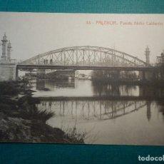 Postales: POSTAL - ESPAÑA - PALENCIA - 18 PUENTE ABILIO CALDERON - THOMAS 4616 -. Lote 71653471