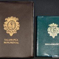 Postales: COLECCION 40 POSTALES SALAMANCA POSTAL EN LIBRO TIRA SIMIL PIEL DE LUJO. Lote 72272627