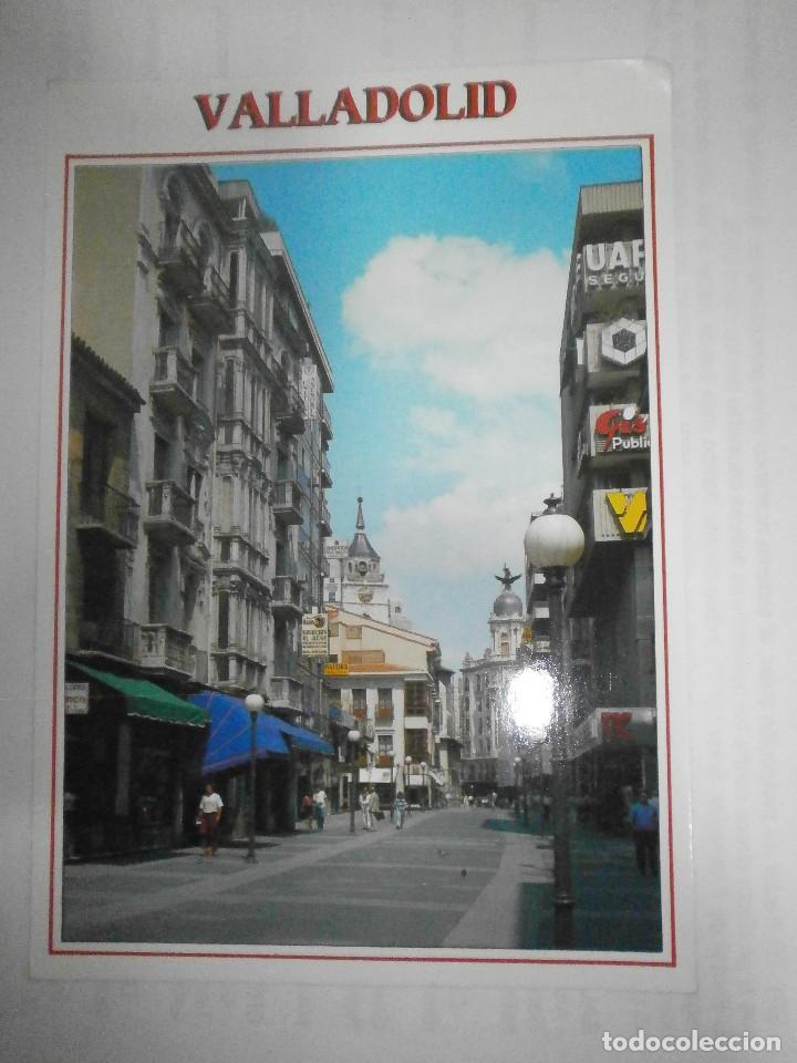 POSTAL VALLADOLID CALLE SANTIAGO (Postales - España - Castilla y León Moderna (desde 1940))