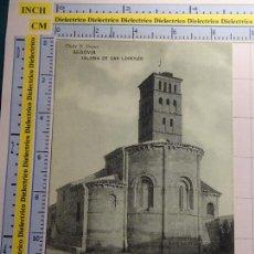 Cartoline: POSTAL DE SEGOVIA. AÑOS 10 30. IGLESIA DE SAN LORENZO. CLICHÉ J. DUQUE. 1629. Lote 72424719