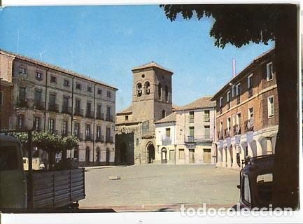 PALENCIA CARRION DE LOS CONDES PLAZA MAYOR, AL FONDO IGLESIA DE SANTIAGO. ED. INTER 5. SIN CIRCULAR (Postales - España - Castilla y León Moderna (desde 1940))