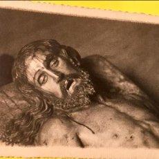 Postales: ZAMORA POSTAL CRISTO JESUS YACENTE ZAMORA FOTO SOMOZA SIN CIRCULAR BLANCO NEGRO. Lote 64994119