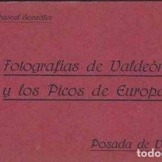 Postales: 10 FOTOGRAFÍAS DE VALDEÓN Y LOS PICOS DE EUROPA. Lote 74015911
